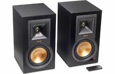 Klipsch R-15PM Powered Speakers Ebony 2 Way W/ Bluetooth & Remote B-stock R-51PM