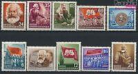 DDR 344-353 (kompl.Ausg.) postfrisch 1953 70.Todestag von Marx (9182951