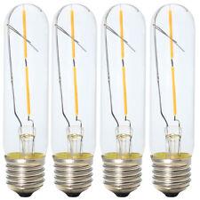 4x E27 T30 2W Nicht Dimmbar Antik Edison LED Glühfaden Lampe Röhrenförmig Form