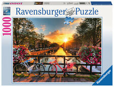 Ravensburger Bicycles in Amsterdam 1000pc Jigsaw Puzzle
