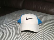 Nike Golf Hat White and Blue