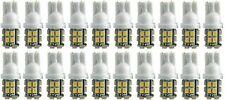 20 x SMD 20 LED 501 T10 W5W Side Number Plate Interior Car Light Wedge Bulb Lamp