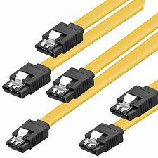z 3x 0,5m S-ATA Anschluß-Kabel 3 Stück Datenkabel GERADE SATA 6Gb z.B.f.SSD 50cm