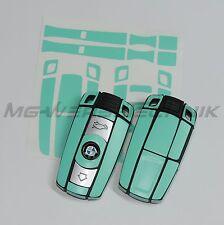 1B_Schlüssel-Dekor aufkleber für BMW 1er 3er 5er 6er 7er Z4 X1 X5 X6 M mint matt
