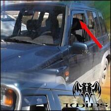 Set 2 Deflettori Aria Antiturbo Oscurati Suzuki Vitara 5 Porte 1989-1998