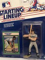 1989 Starting lineup Tom Brookens Baseball figure Card Detroit Tigers toy MLB