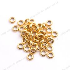 Wholesale Tibetan Silver/Gold/Bronze Rings Spacer Beads 6x2MM 3142