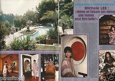 Coupure de presse Clipping 1988 Michèle Lee (2 pages)