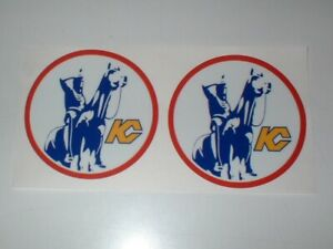 NHL KANAS CITY SCOUTS FULL SIZE DECALS