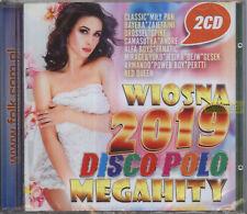 = WIOSNA 2019 DISCO POLO MEGAHITY + WIOSNA 2018 / disco polo dance / CD sealed