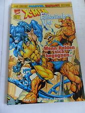 1x, cómic Marvel crossover nº 18-X-Men/cuatro fantásticos (Top)
