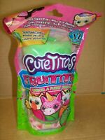 Sealed Cutetitos Fruitito Series 4 Collectible Plush Stuffed Animal - Brand New