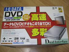 IO Data External DVD-Rewriter DVD-UEN16R USB2.0+IEEE1394 JPN (Used) (Boxed)