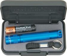 MagLite Solitaire Single Cell AAA Battery Blue Aircraft Aluminum Flashlight 1B