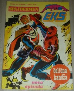 Spider-Man / Hobgoblin / Eks almanah 436 / Yugoslavia 1985