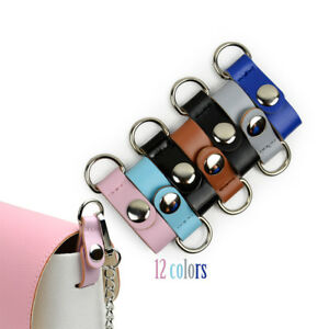1 Pair Clip Closure Attachment for Obag Faux Leather Hook Clip for Opocket O bag