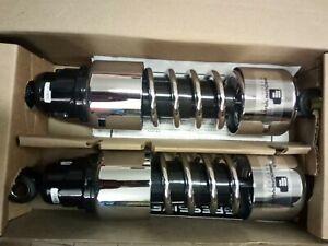 """Ammortizzatori Progressive 412 11,5"""" cromati per Harley Sportster XL 04-2020"""