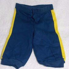 Babies R Us BLUE/YELLOW Stripe Pants Baby Boy 0-3 Months New NWOT