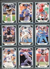 1991 Leaf Preview Set ( 26 cards ) Near Mint +