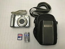 Canon PowerShot A720 IS 8MP Digital Camera w/6X Optical Zoom Silver + 4 GB SDHC