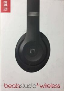 Beats By Dr Dre Studio3 Wireless Headphones - Black Brand New and Sealed