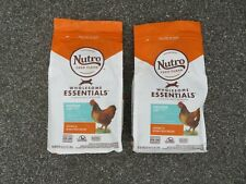 (2) Bags Nutro Feed Clean Wholesome Essentials Indoor Cat Food 3 lbs Each @7
