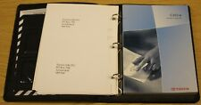 Genuine TOYOTA CELICA OWNERS MANUAL manuel portefeuille 2002–2005 Pack A-556