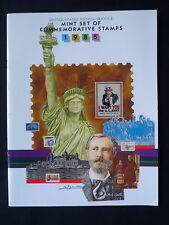 UNITED STATES. YEAR PACK BOOKLET. ALL COMMEMORATIVE STAMP ISSUES. 1985.