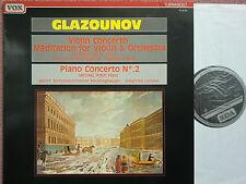 Ruggiero Ricci – Glazounov – Meditation for Violin & Orchestra LP