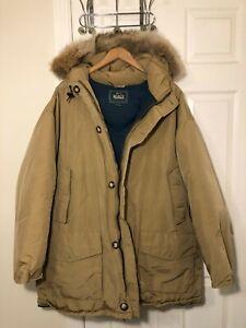 Vintage Men's Woolrich Artic Parka - Size Large