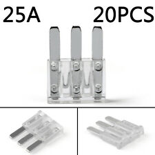 20Pcs Micro3 Fuse Automotive ATL 225A 3 Prong Micro Blade Fuse For Ford Focus