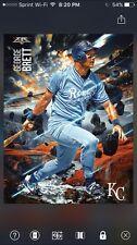 Topps Bunt Digital Cards Fire Series George Brett Royals Baseball