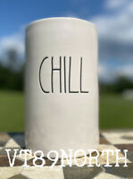 "New RAE DUNN Artisan Collection ""CHILL"" Wine Bottle Chiller Holder By Magenta"