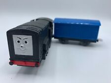 Trackmaster Diesel Motorized Thomas & Friends  TOMY Train Blue Cargo Car