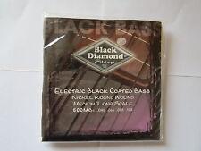 Black Diamond 500MB Black Coated Bass 4 strings  FREE SHIPPING Canada!
