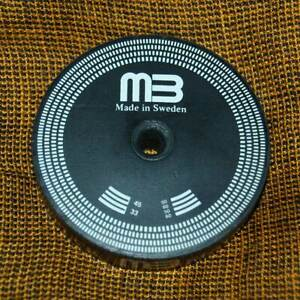 MB Record Puck Rubber Stabilizer Clamp Weight Stroboscope Palet Presseur Sweden