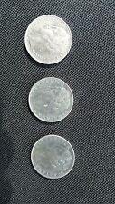 1956-58-65 l.100 italiana silver coins