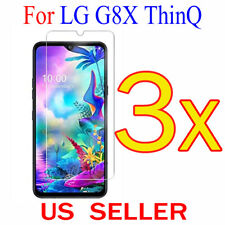 """3x Clear LCD Screen Protector Guard Cover Shield Film For LG G8X ThinQ  6.4"""""""