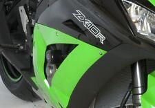 Kawasaki ZX10 R 2012 R&G Racing Aero RACE Crash Protectors CP0335BL Black