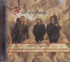 3 De Copas Edicion Especial Contiene el Tema Sigue CD New Sealed