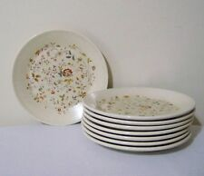 Lenox Merriment Bread & Butter Plates Set of 8 Temper-Ware Vintage Made in USA