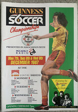 More details for guinness soccer 6 championships 1987 with 'extras'