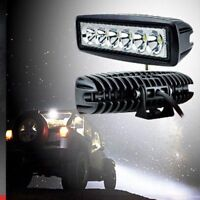 6-LED Work Light Bar Spot Flood Lights Driving Lamp Offroad Car Truck SUV 18W SM