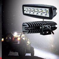 6-LED Work Light Bar Spot Flood Lights Driving Lamp Offroad Car Truck SUV 18W SM