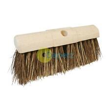 "13"" 330mm Stiff Bassine Broom Head Outdoor Hard Yard Brush"