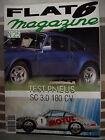 FLAT 6 magazine n° 25 TEST PNEUS. 911 PROCAR. 911 S 2.4 . SPEEDER CARRERA 356