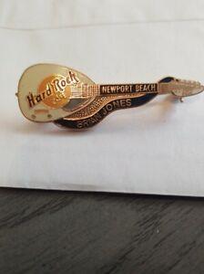 "Hard Rock Cafe Newport Beach White Vox ""Brian Jones"" 2nd Memorial Series Guitar"