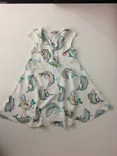 KENZO Fish Summer Dress Size 98 Age 3 Years Vgc