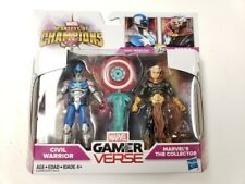 Marvel Gamerverse CIVIL WARRIOR & COLLECTOR Contest of Champions Hasbro Sealed