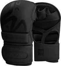 RDX Guanti MMA Boxe Grappling Arti Marziali Formazione Punzonatura Nero IT